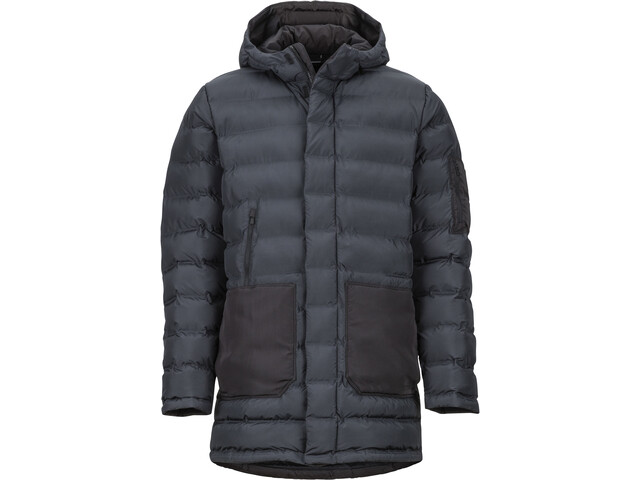 Marmot Alassian Featherless Parka Miehet, black